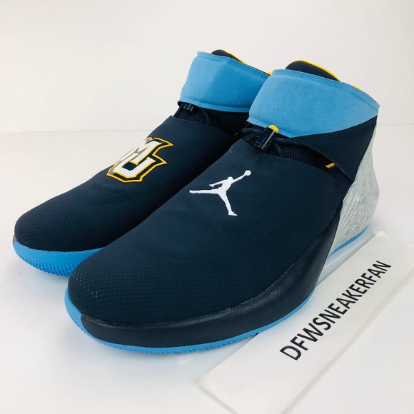 7922105f1b7 Jordan Shoes | Air Why Not Zero 1 Marquette Pe Mens Sz 16 | Poshmark
